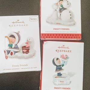 Frosty Friends Christmas Ornaments